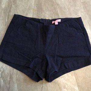 Lilly Pulitzer navy shorts